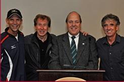Jeff Galloway, Bill Rodgers, Les Smith, Frank Shorter