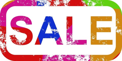 sales promotion sign